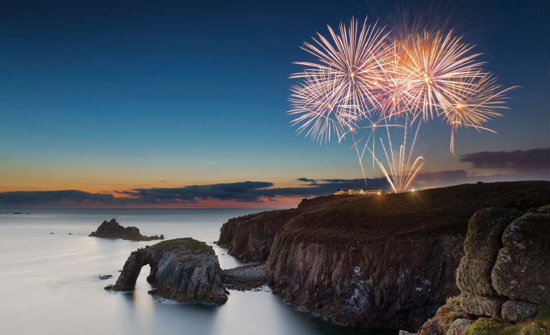 Fireworks at Land's End